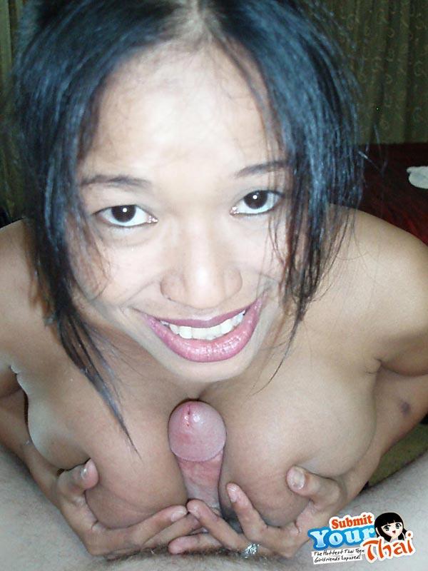 Beautiful busty thai slut
